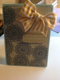 Female card using just Stampin Up! Products