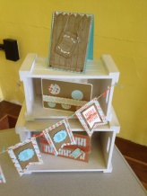 Stampin Up! Male themed makes exhibits