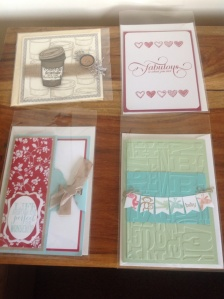 Coffee,heart fab,tag card & baby bunting