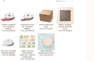 Stampin Up! Weekly Deal 1/10/2014  - 7/10/2014