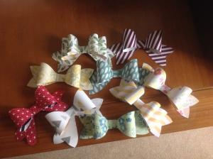 Bows, bows and more bows!